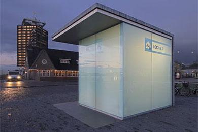 Automatiske sykkelhus fra Holland