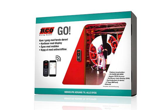 Avansert adgangskontrollsystem på 1-2-3. - Startpakken RCO GO!