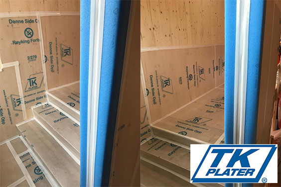 Beskytt gulv, vegger og hjørner mot skader i byggeperioden
