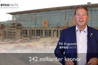 Det skal bygges for 242 milliarder