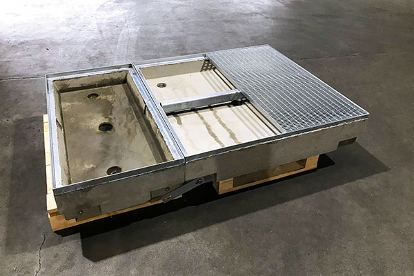 Effektiv løsning med betongkummer