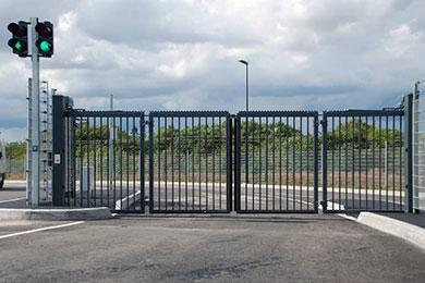 Garda V-King hurtigfoldeport for adgangskontroll og økt sikkerhet
