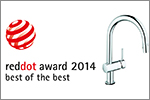 "GROHE mottar ""red dot: Best of the Best""- prisen for femte gang"