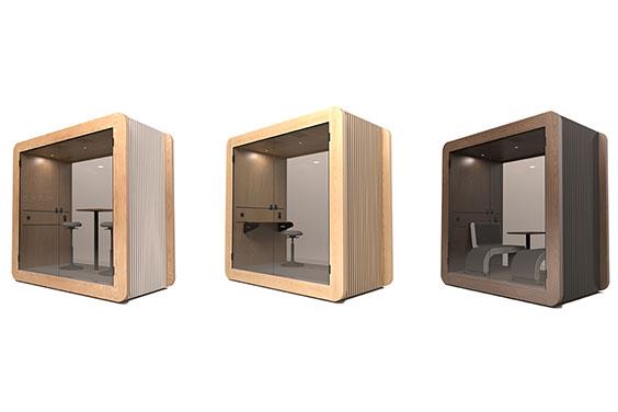 Gustafs Gpod – unik akustiklösning för kontor