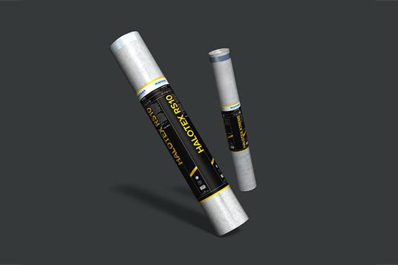 Halotex Tettesystem for dampåpne undertak og vindsperrer.