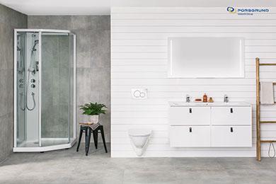 Nye Porsgrund Showerama 10-5 dusjkabinett - et godt valg for alle