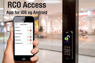 RCO ACCESS – APP for iOS og Android