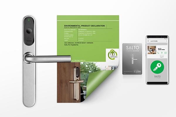 SALTO Systems oppnår miljøproduktdeklarasjon (EPD)