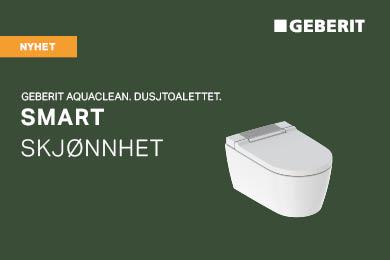Smart skjønnhet – nye Geberit AquaClean Sela dusjtoalett
