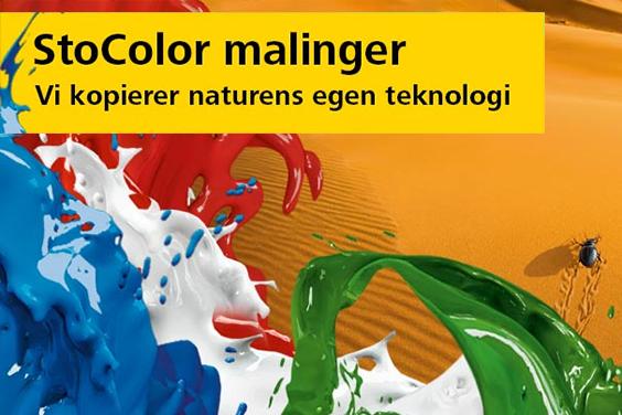 StoColor malinger - Vi kopierer naturens egen teknologi