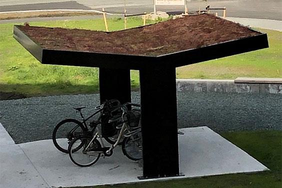Sykkelparkering med miljøaspekt