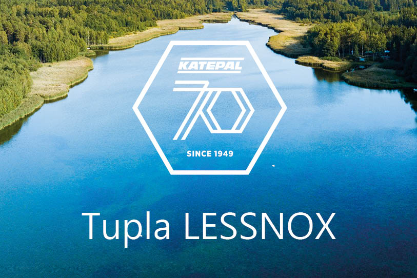 Tupla LESSNOX® sveisepappen for et bedre miljø!