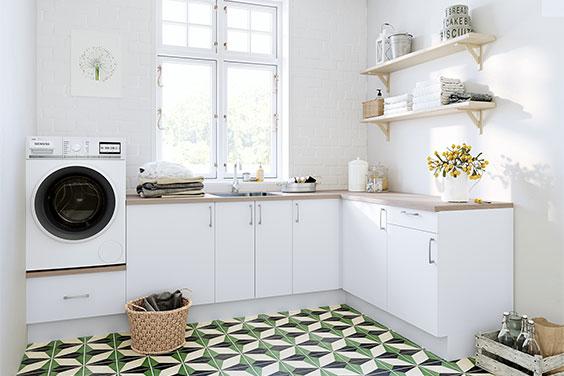 Vaskerommet er ikkje lenger husets kjedeligaste rom!