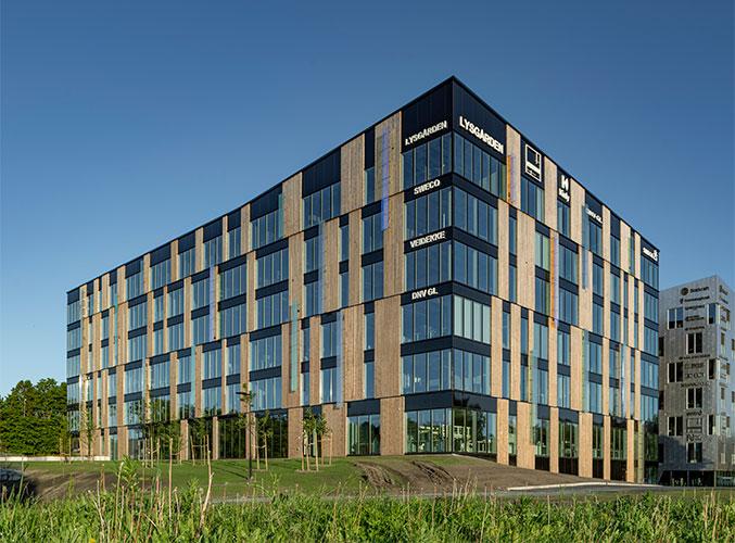 Veidekke kontorsbygg, Lysgården